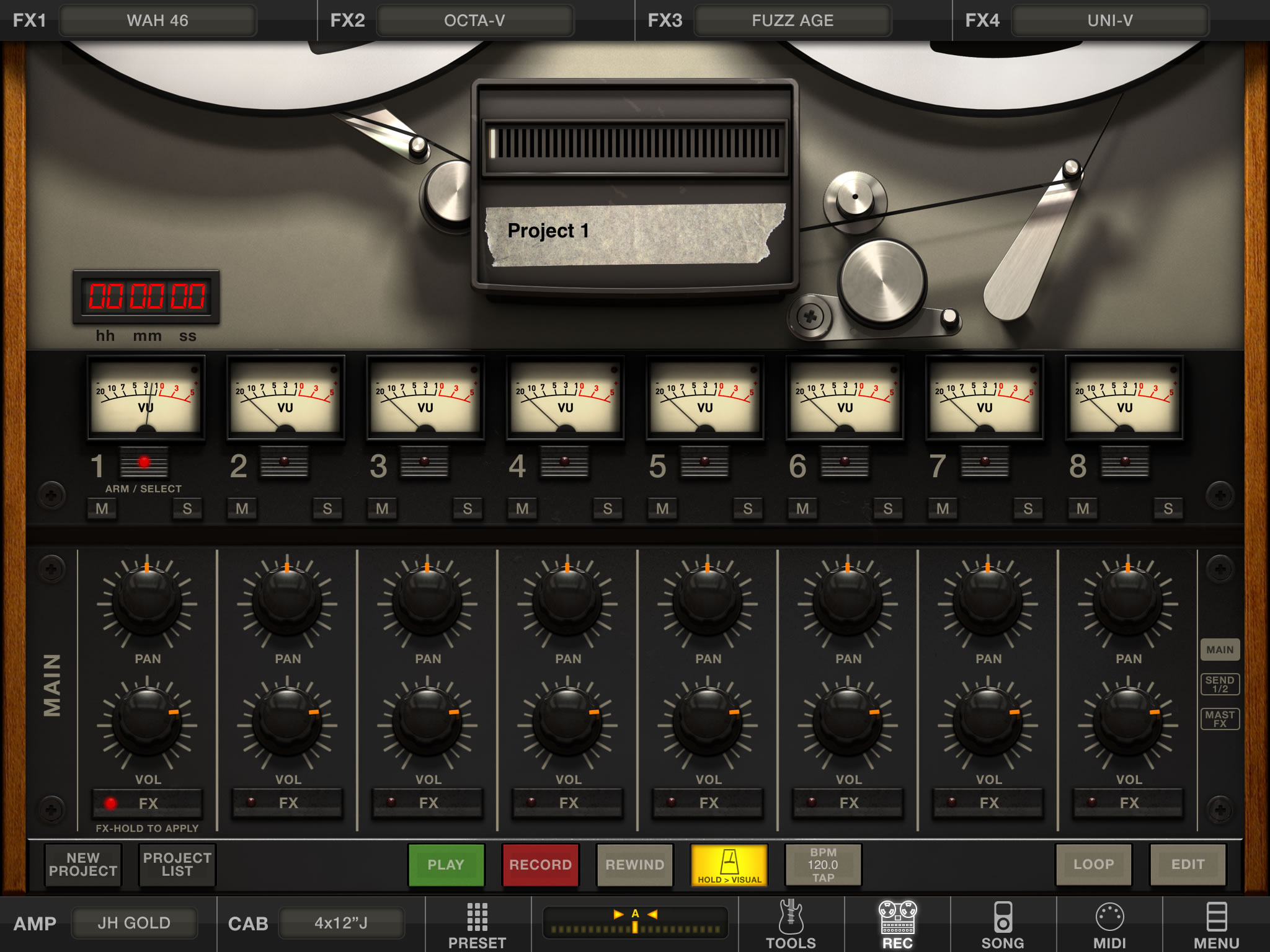 AMPLITUBE FOR IPAD REVIEW
