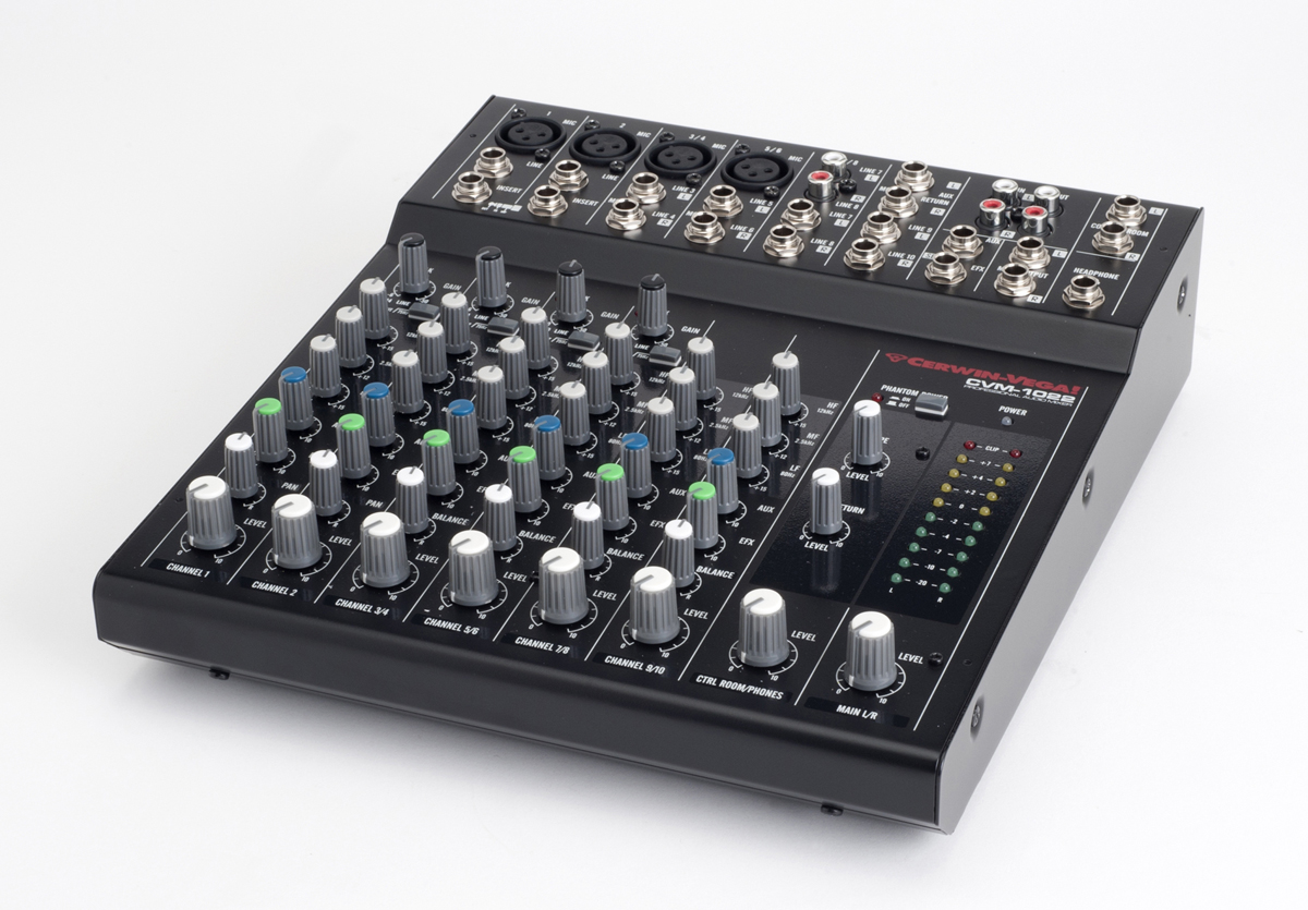 NEW MIXERS WITH USB