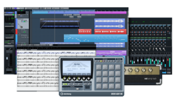 Cubase Elements Collage