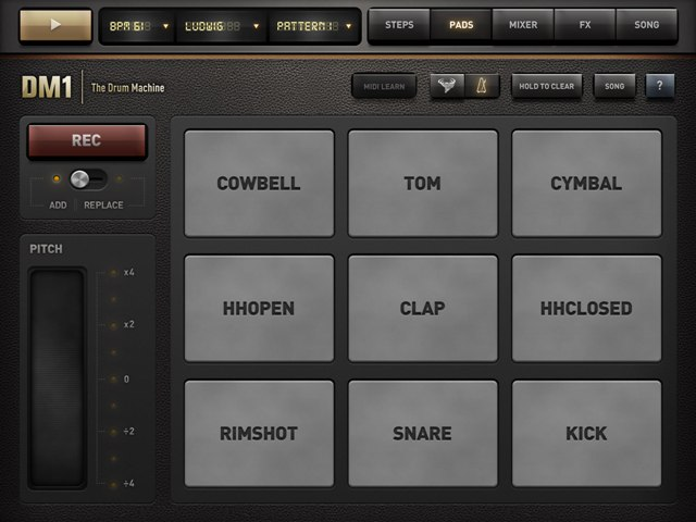 DM1 DRUM MACHINE APP REVIEW